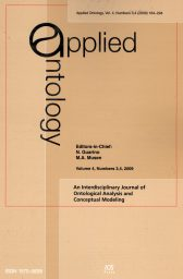 Applied Ontology
