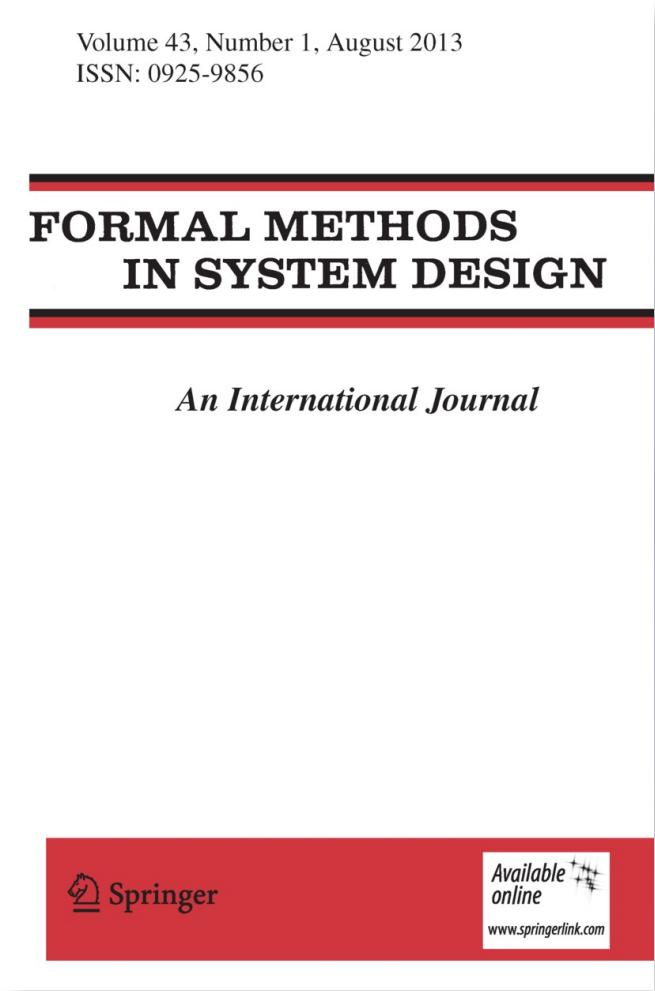 Formal Methods in System Design (Springer)